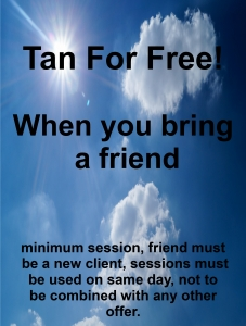 tan for free coupon